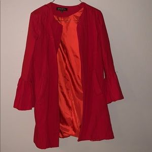 Red Jacket from Red Dress Boutique